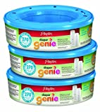 Playtex Diaper Genie Refill (810 count total – 3 pack of 270 each), Health Care Stuffs