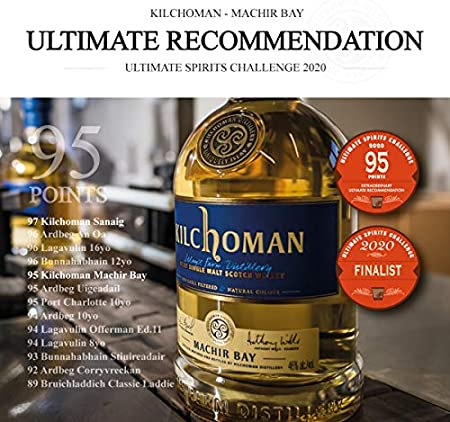 Kilchoman MACHIR BAY Islay Single Malt Scotch Whisky 46% - 700 ml in Giftbox