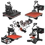 Mophorn Heat Press 15x15Inch 8pcs Heat Press