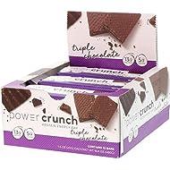 Power Crunch Triple Chocolate, 1.4-Ounce Bar , 12 count