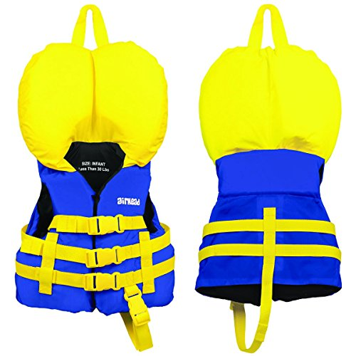 Airhead Infant Nylon Life Vest - Blue
