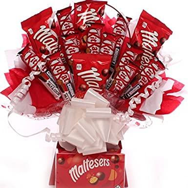 Maltesers And Kitkat Chocolate Bouquet Kitkat And Maltesers Large