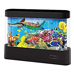 Discovery Kids Animated Tropical Fish Marine Lamp