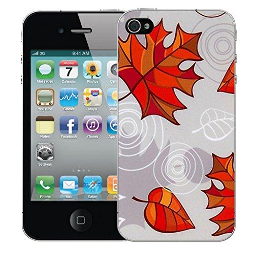 iphone 5 5s Dur Coque couverture Pare-chocs Case Cover - leaf conception par Mobile Case Mate