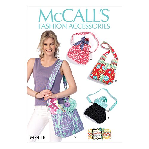 MCCALLS M7418 PURSE / BAG (4 STYLES) SEWING PATTERN