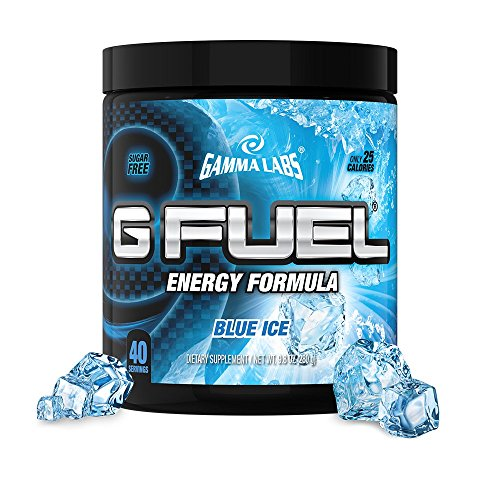 G Fuel Blue Ice Tub (40 Servings) Elite Energy and Endurance Formula Net Wt 9.8  ounce