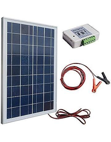 Placa solar ECO-WORTHY, kit de 12 V, 25 W: 1 controlador