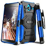 Lumia 640 XL Case, Evocel [New Generation Series] Belt Clip Holster, Kickstand, Dual Layer for Microsoft Lumia 640 XL, Blue (EVO-NK640XL-XX02)