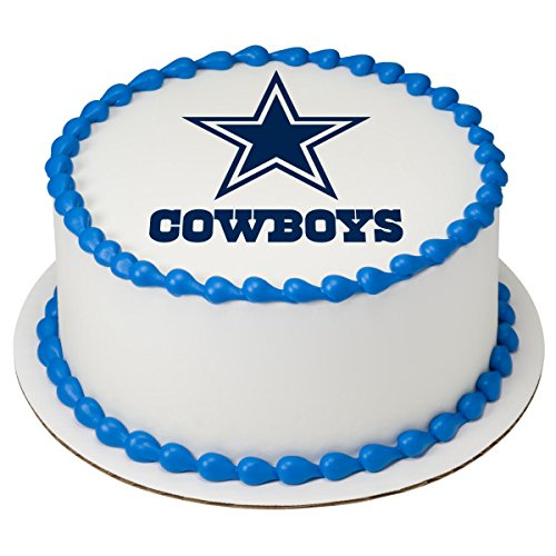 NFL Dallas Cowboys Licensed Edible 8