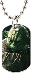 Humor Funny Motivational Star Wars Unique Image Oval Dog Tag Aluminum ID Tag Key Chain Cat Horse Pet Tag
