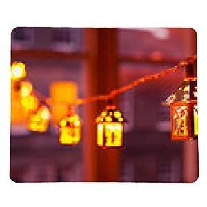 alfombrilla de ratón Luces de Navidad - rectangular - 23cm x 19 cm