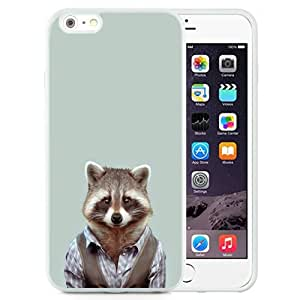 Fashionable Custom Designed iPhone 6 Plus 5.5 Inch Phone Case With Yago Portal Zoo Portraits Common Raccoon_White Phone Case