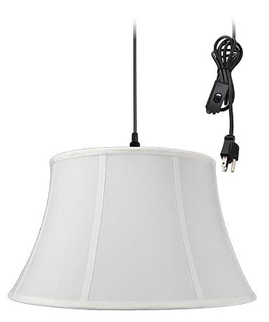 Amazon.com: 1-Light Plug In Swag de techo de techo, color ...