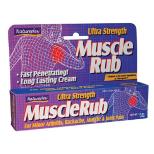 Ultra Strength Muscle Rub 1.5 Oz. Case Pack 24