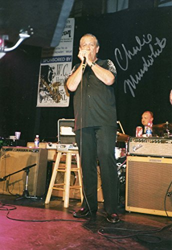 ELECTRIC BLUES HARMONICA Charlie Musselwhite autograph, signed photo