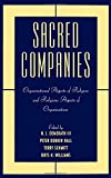 img - for Sacred Companies: Organizational Aspects of Religion and Religious Aspects of Organizations (Religion in America) book / textbook / text book