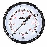 Milson Pressure Gauge, 2.5