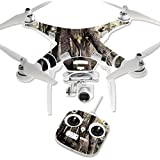 MightySkins Protective Vinyl Skin Decal for DJI Phantom 3 Standard Quadcopter Drone wrap cover sticker skins Tree Camo