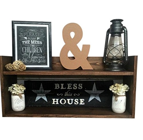 Rustic Wooden Shelves, Rustic Wooden Shelf, Rustic wood shelf, Rustic Wood Shelf