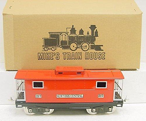 MTH 10-1054 217 Std. Gauge Red Caboose W/Nickel Trim