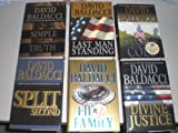 img - for Divine Justice 2008, Split Second 2003, First Family 2009, Stone Cold 2007, Last Man Standing 2001 & Simple Truth 1998 book / textbook / text book
