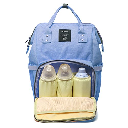 Diaper Nappy Bag Travel Backpack Waterproof Multi-Function Mommy Bag Baby Care Large Capacity Durable