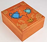 Fortnum & Mason Small Wooden 80 Teabag Selection Restaurant Box