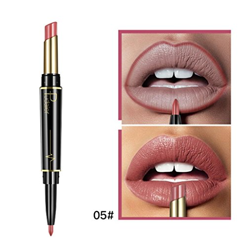 Oksale® Double-end Lasting Lipliner Waterproof Lip Liner Stick Pencil 16 Color Lipstick (05#)