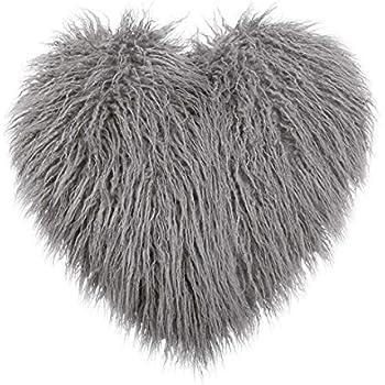 Amazon Com Heart Shaped Deluxe Home Decorative Super Soft