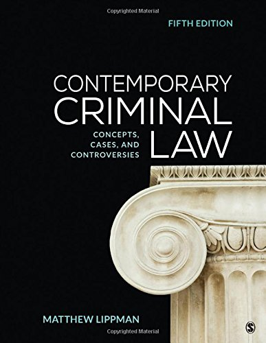 Pdf Law Contemporary Criminal Law: Concepts, Cases, and Controversies