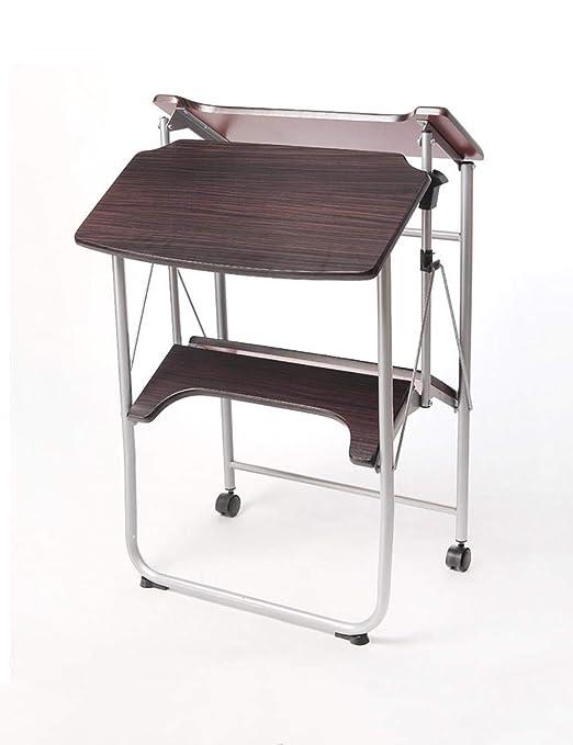 Mesa ordenador Pequeña y Sencilla sin instalación del Dormitorio ...