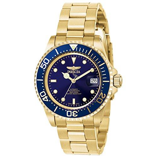 Invicta Men's 8930OB Pro Diver Automatic Gold-Tone Bracelet Watch