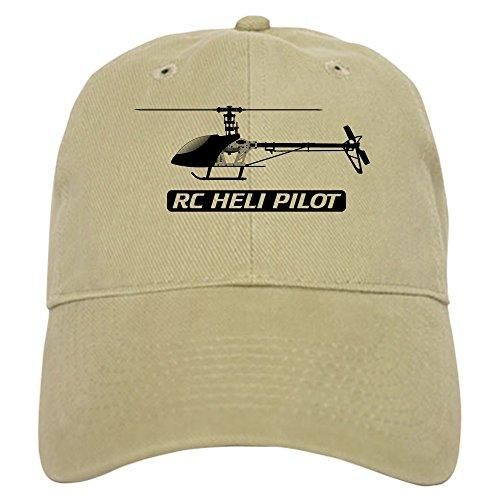 T-rex Nitro 450 (CafePress - RC Heli Pilot Cap - Baseball Cap with Adjustable Closure, Unique Printed Baseball Hat)