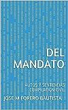 DEL MANDATO: AUTOS Y SENTENCIAS COMPILACIÓN CIVIL (BIBLIOTECA JURÍDICA) (Spanish Edition)