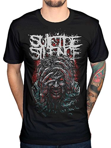 Hoodie Mens Silence - AWDIP Men's Official Suicide Silence OCD T-Shirt Deathcore Band Music Rock