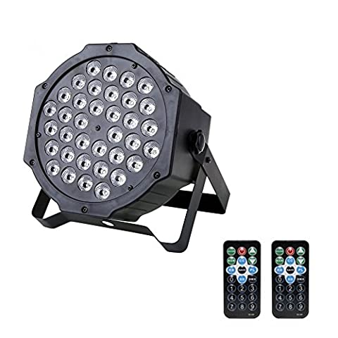 36 LED Par Lights Stage Lighting RGB LED Up Lighting Wash Light with Remote and DMX Control for Disco DJ Party Wedding Club - Stage Lighting Package