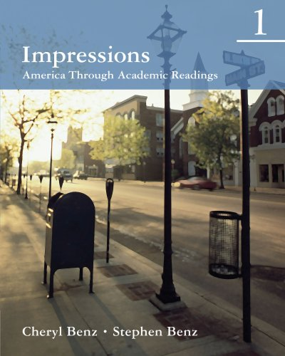 Impressions 1: America Through Academic Readings (Student Book)