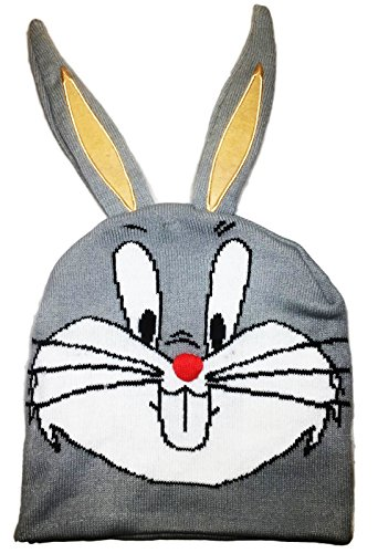 Looney Tunes Bugs Bunny with 3-D Ears Knitted Beanie -