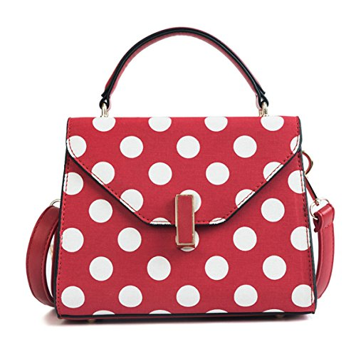 Shoppers Shoulder And Shoulder Bags Handbags Women Handbags Deerword Burgundy Bowling