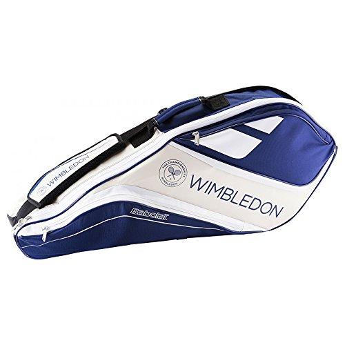 Babolat RH X 3Team Tennistasche Wimbledon Kissenbezüge, Unisex Erwachsene, Blau/Beige, Einheitsgröße