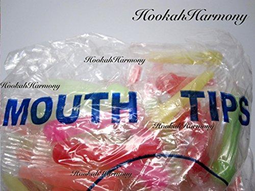 Hookah Harmony Egyptian Hookah Shisha Hose BONUS 10 Mouth Tips BLUE WHITE