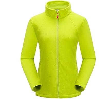 amazon com bosozoku womens thermal fleece jacket full zip long