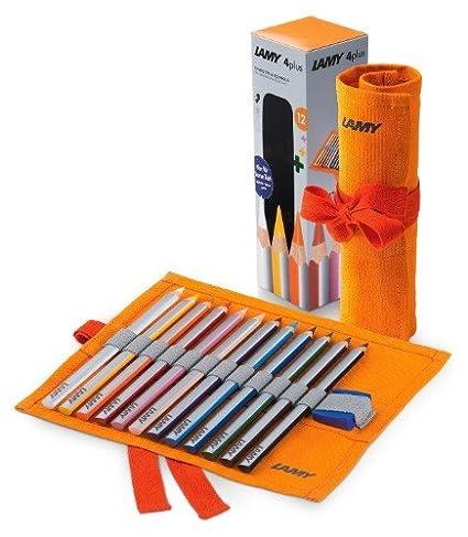 Lamy W 439 4plus - Estuche enrollable con lápices de colores ...