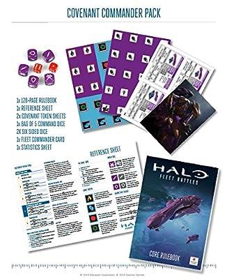 Halo: Fleet Battles Covenant Commander Pack HFCV01 by Spartan Games