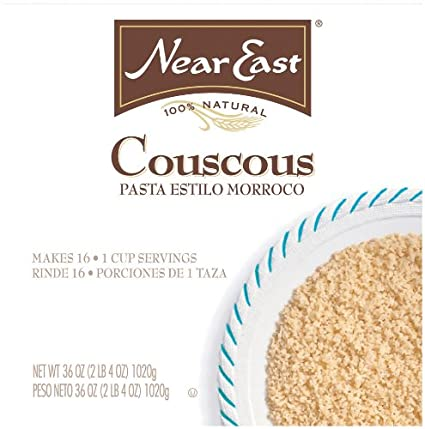 Amazon.com: Near East Couscous Moroccan Style Pasta, Original, Large Box 16 Servings: Prime Pantry