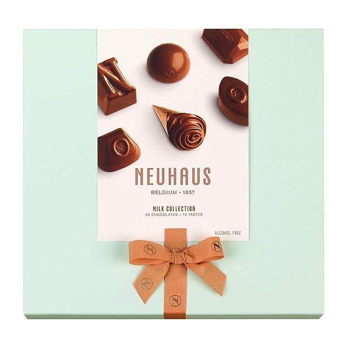 Neuhaus Collection Milk Chocolate - 25 bombones: Amazon.es: Alimentación y bebidas