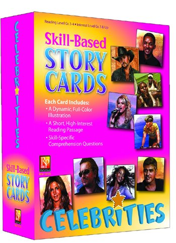 Remedia Skills Based Reading (Remedia Publications REM1072D Skill Based Story Cards Celebrities)