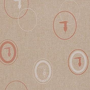 Spielkarten Tapete Trussardi Wall Decor in Vinyl waschbar Texture ...
