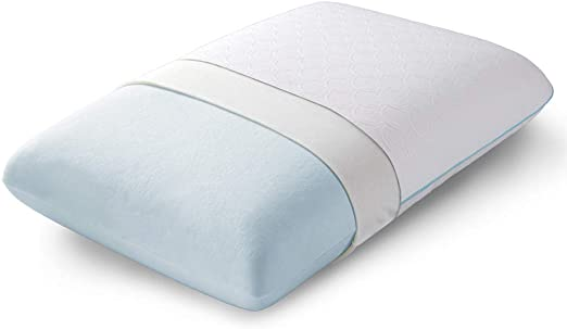 Bedsure Bio-Zero Hydrophilic Memory Foam Pillow Contour Bed Pillow for Neck Pain