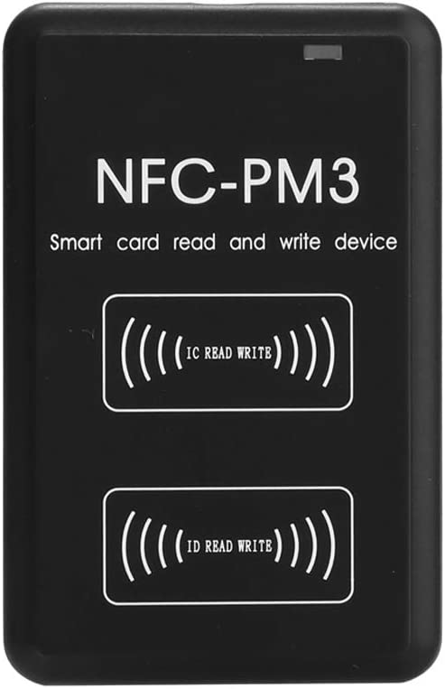 KKmoon NFC RFI-D Copier IC I-D Reader Writer Duplicator with Full Decode Function Intelligent Card Read and Write Device Reader Writer